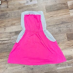 Strapless Casual Cute Dress w/POCKETS!!